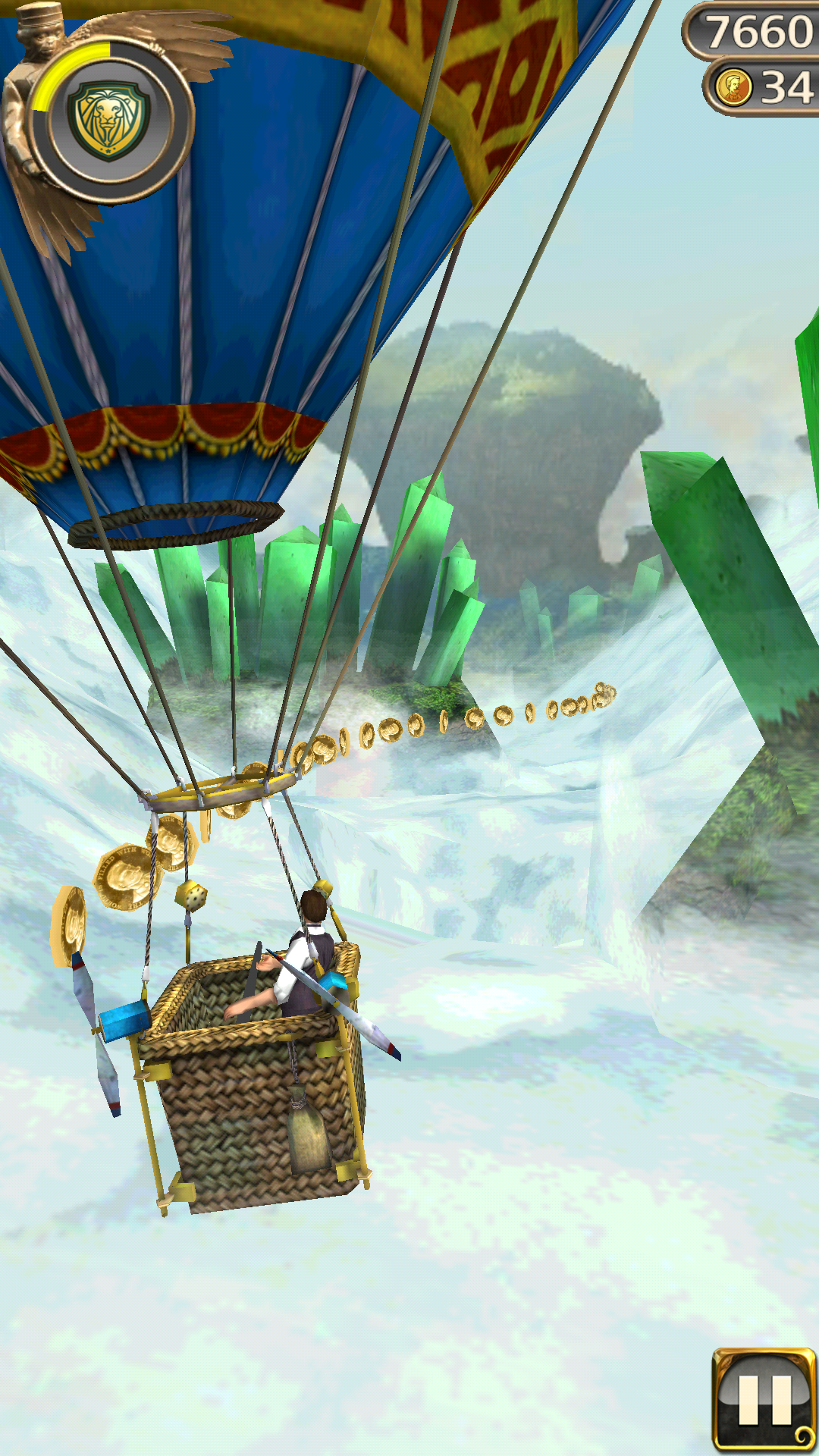 МОД Много денег temple run oz  android games