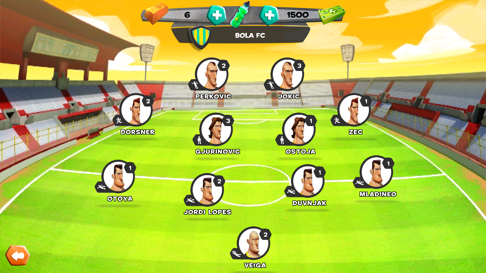 [МОД: Много денег] Disney Bola Soccer - Android games ...