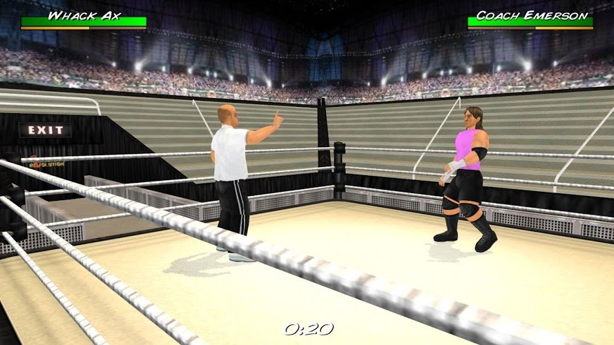 Wrestling Revolution D Exhibition : Wrestling revolution d android games download free