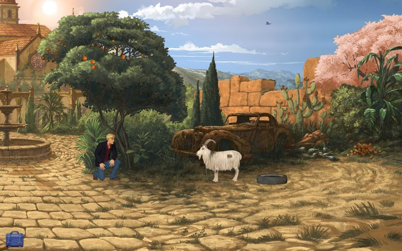 Quests, Adventure, Arcade для OS X :: Broken Sword 5: The Serpent's Cu