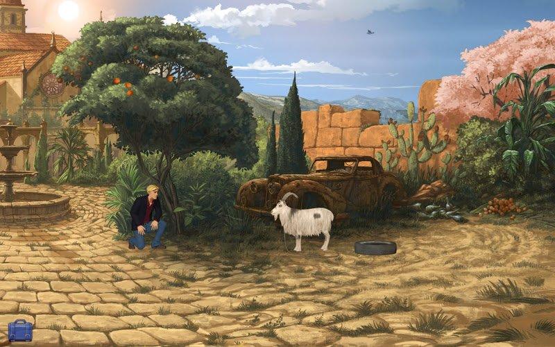Quests, Adventure, Arcade для OS X :: Broken Sword 5: The Serpent's Cu
