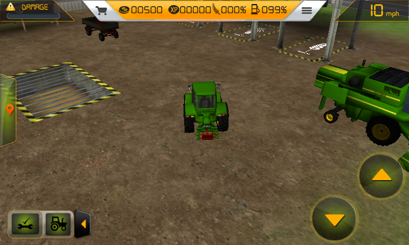 Farm tractor simulator 3d android games download free for Piscinas desmontables alcampo