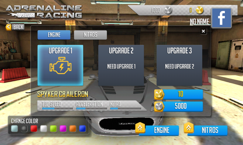 Adrenaline Racing Hypercars Android Games Download