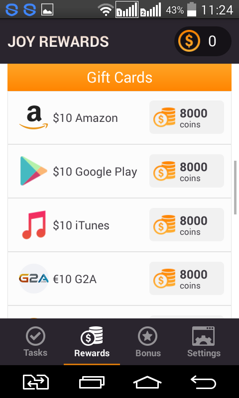 how to set up itunes gift card