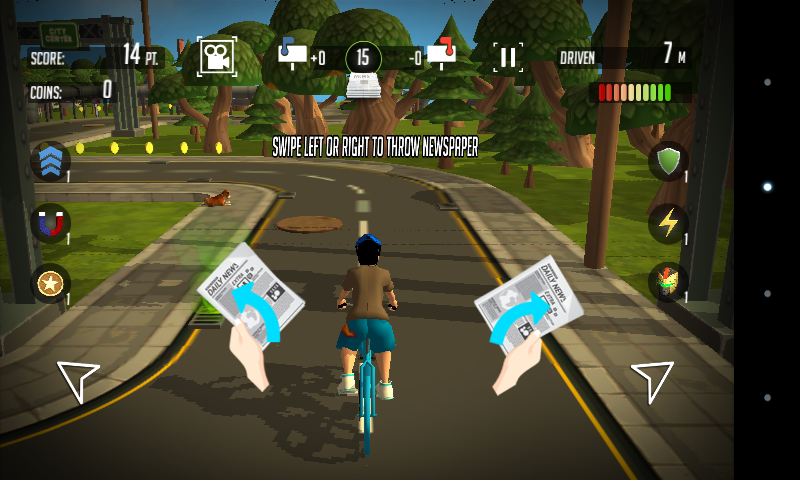 Paper Boy Infinite bicycle ride - Android games - Download