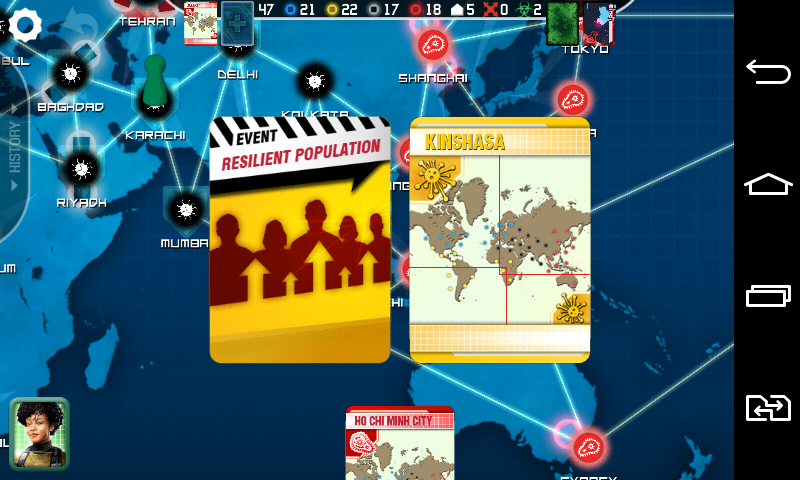 pandemic jeux pour android t l chargement gratuit pandemic la lutte pour la survie de l. Black Bedroom Furniture Sets. Home Design Ideas