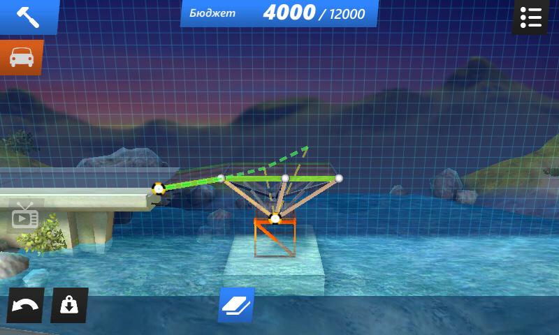 Bridge constructor stunts [v1. 02] (2015) android   скачать игры и.