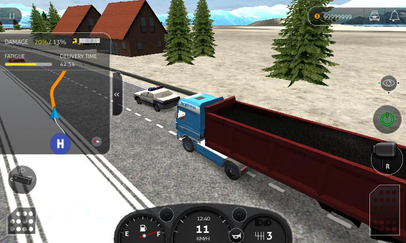 скачать на андроид игру Truck Simulator Pro 2016 - фото 3