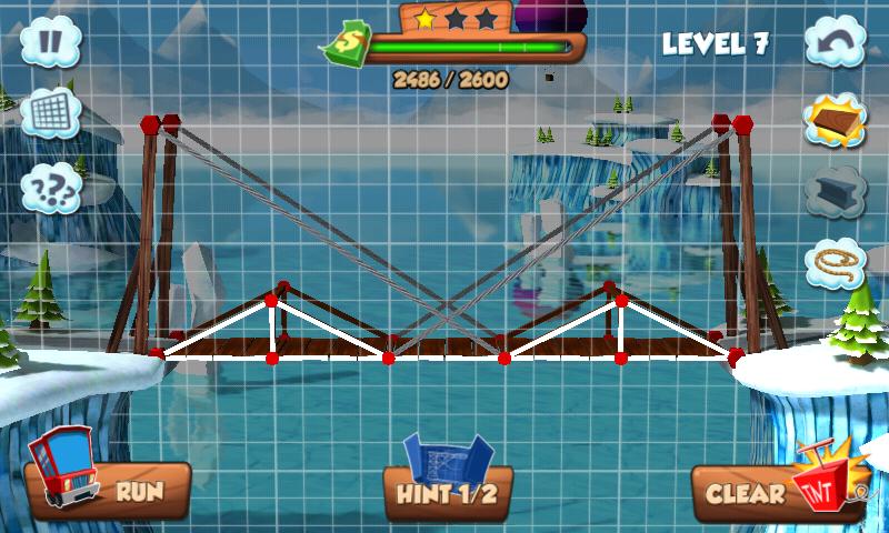 Loose Net Bridge Games