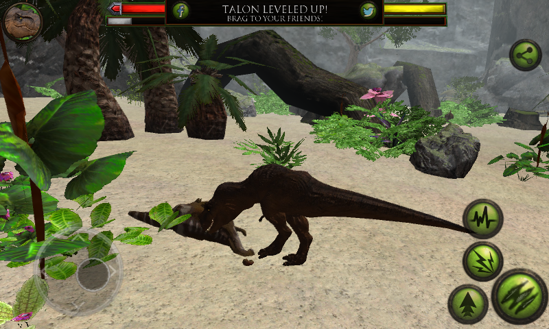 Ultimate dinosaur simulator: game trailer for ios and android.