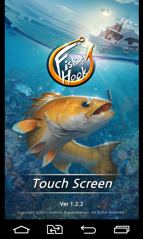 Fishing hook android games download free fishing hook for Fishing video games