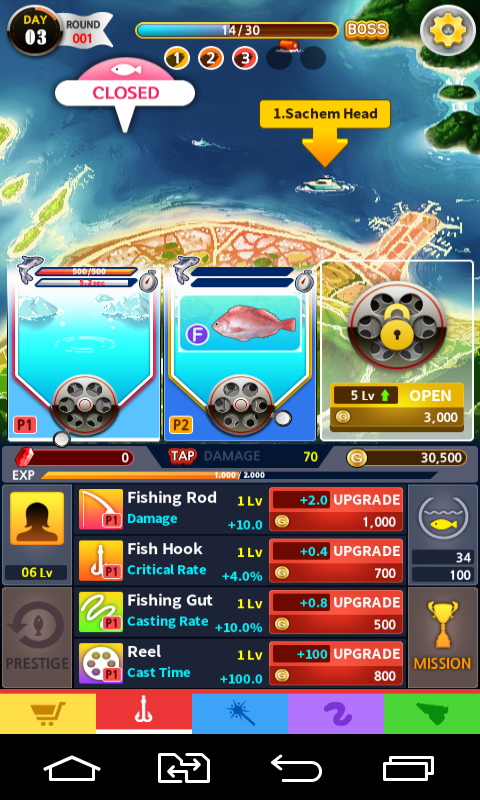 Tap fishing master android games download free tap for Tap tap fish game