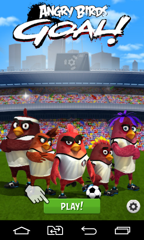 Angry birds goal jeux pour android t l chargement - Telecharger angry birds gratuit ...