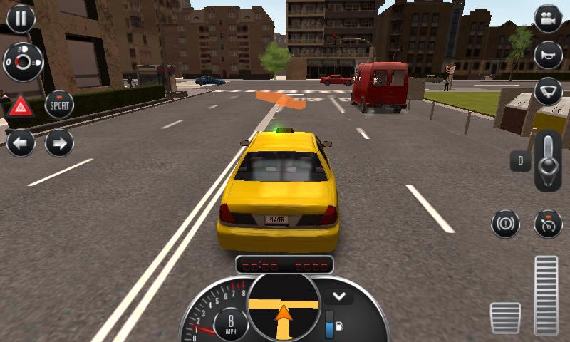 telecharger taxi sim 2016 mod apk