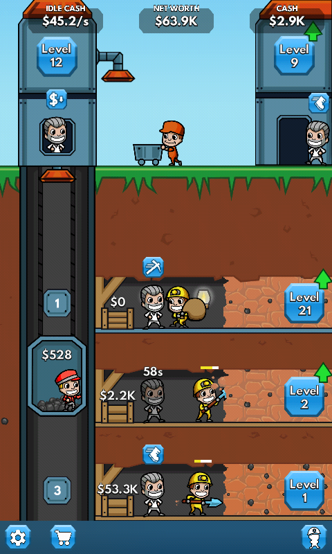 Idle Miner Tycoon - Android games - Download free. Idle Miner Tycoon - Simulator owner of the mine