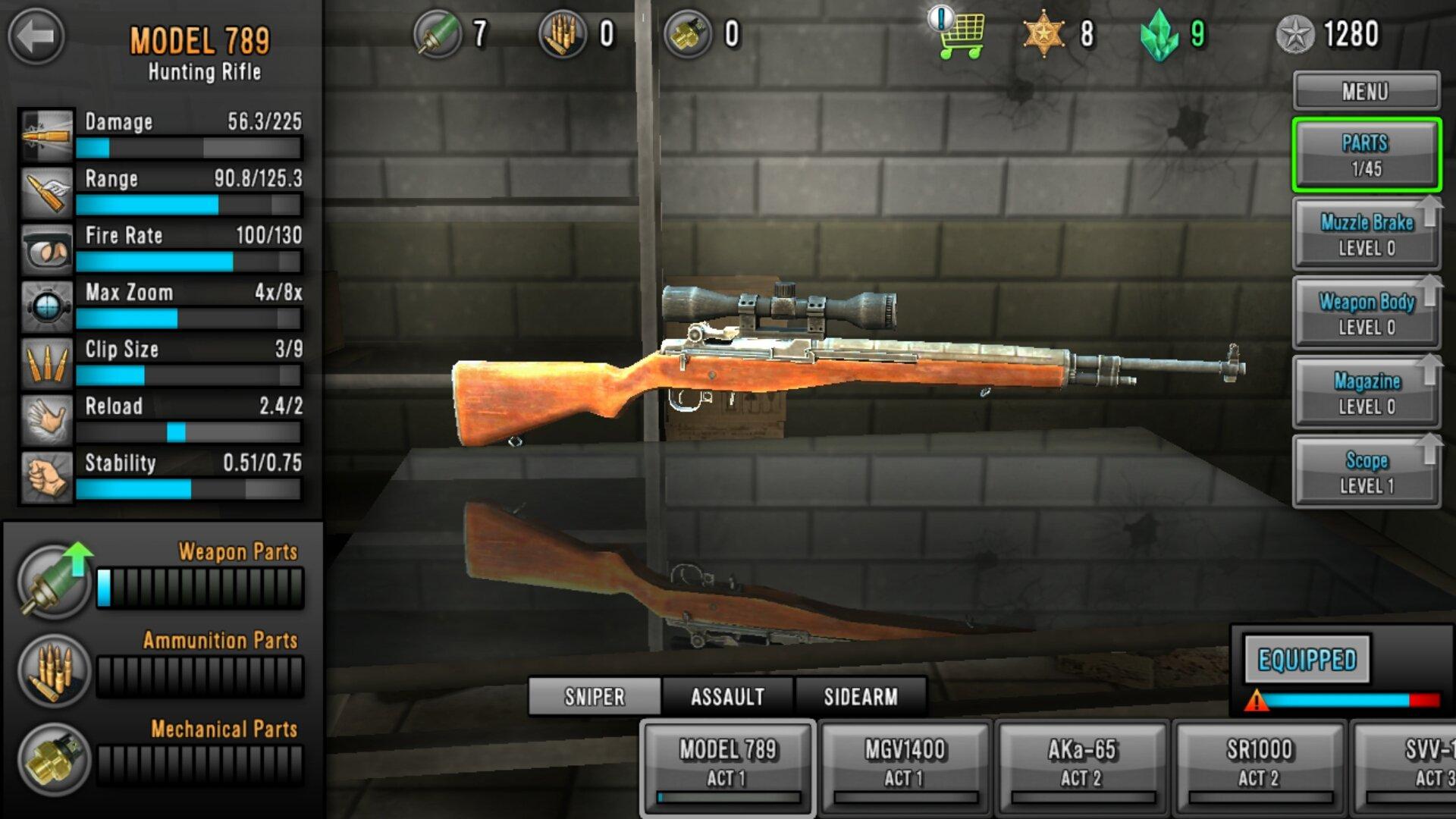 МОД: Бесконечные ресурсы, Много денег] Last Hope Sniper: Zombie War