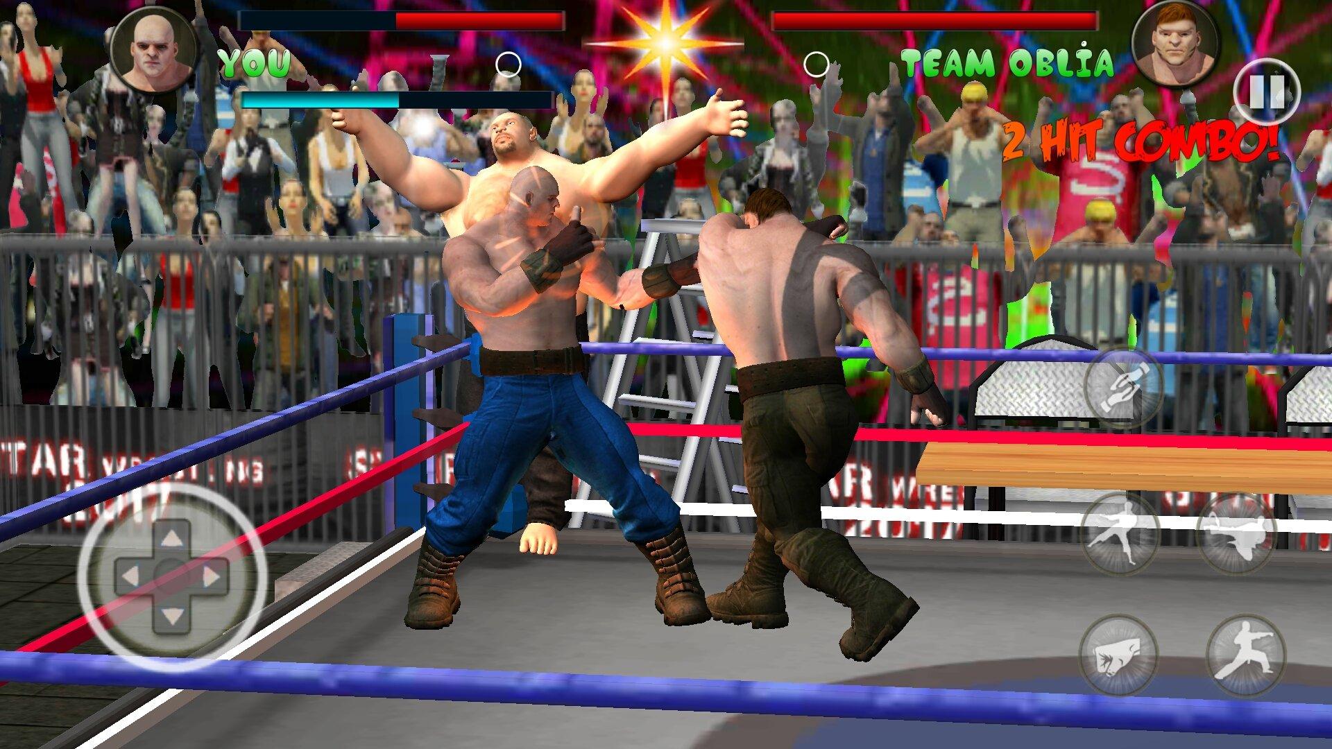Wrestling Revolution D Exhibition Title Match : World tag team wrestling revolution championship android
