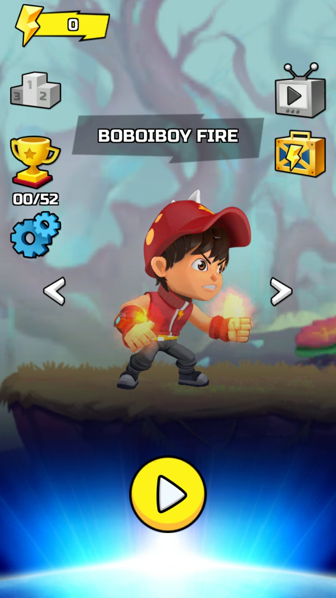 Boboiboy Galaxy Run Fight Aliens To Defend Earth Android Games