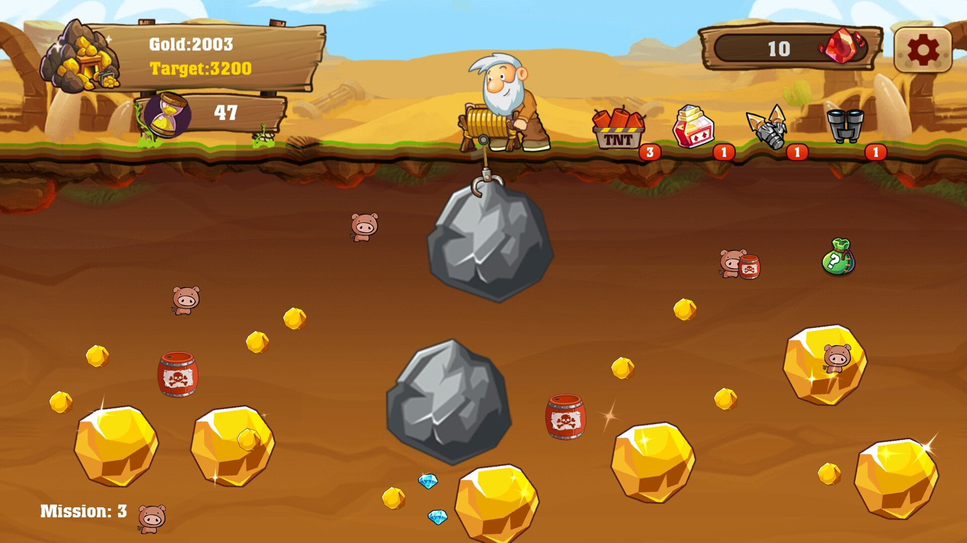 Gold Miner Free Game