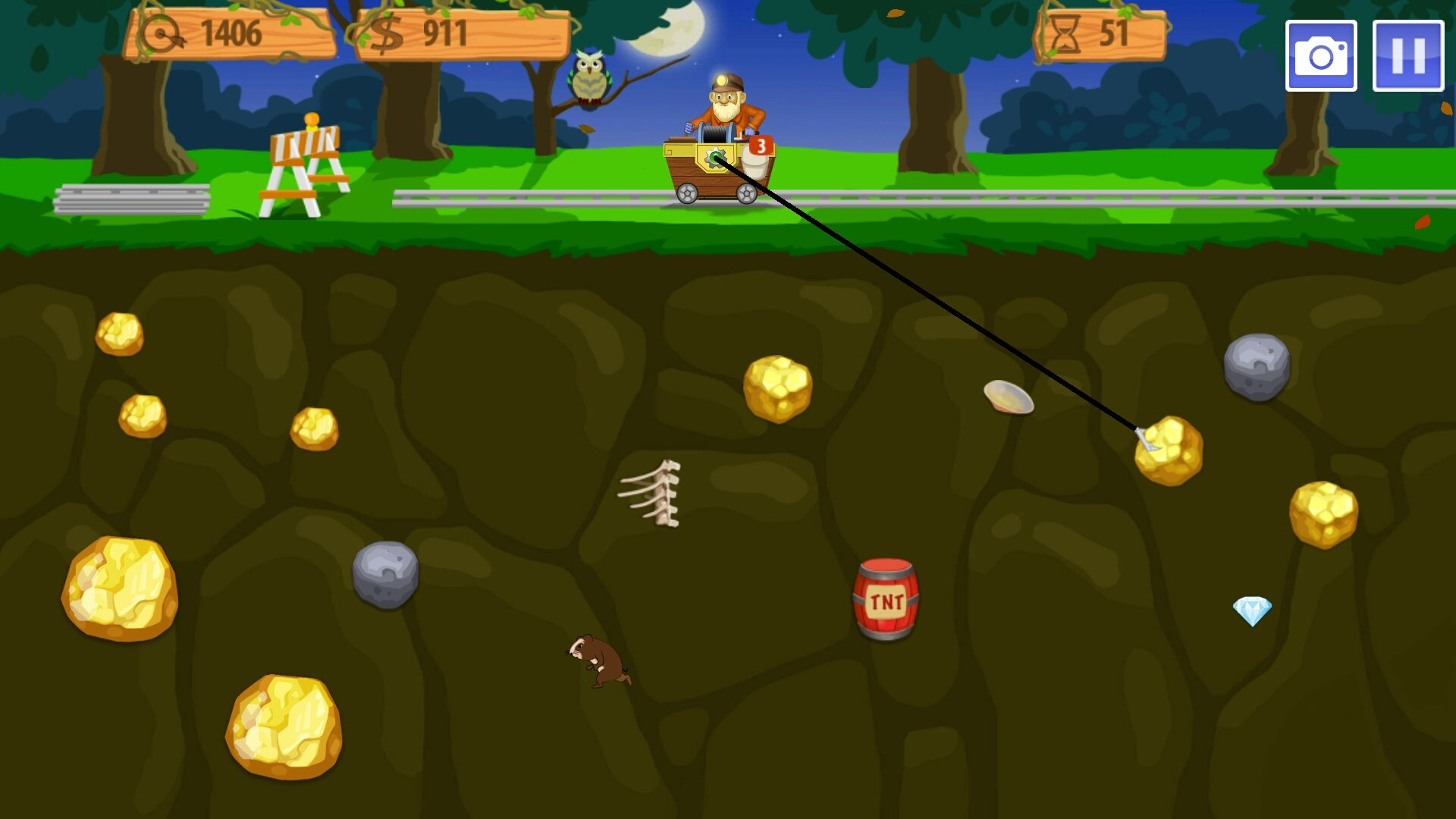 Gold Miner Vegas - Android games - Download free. Gold