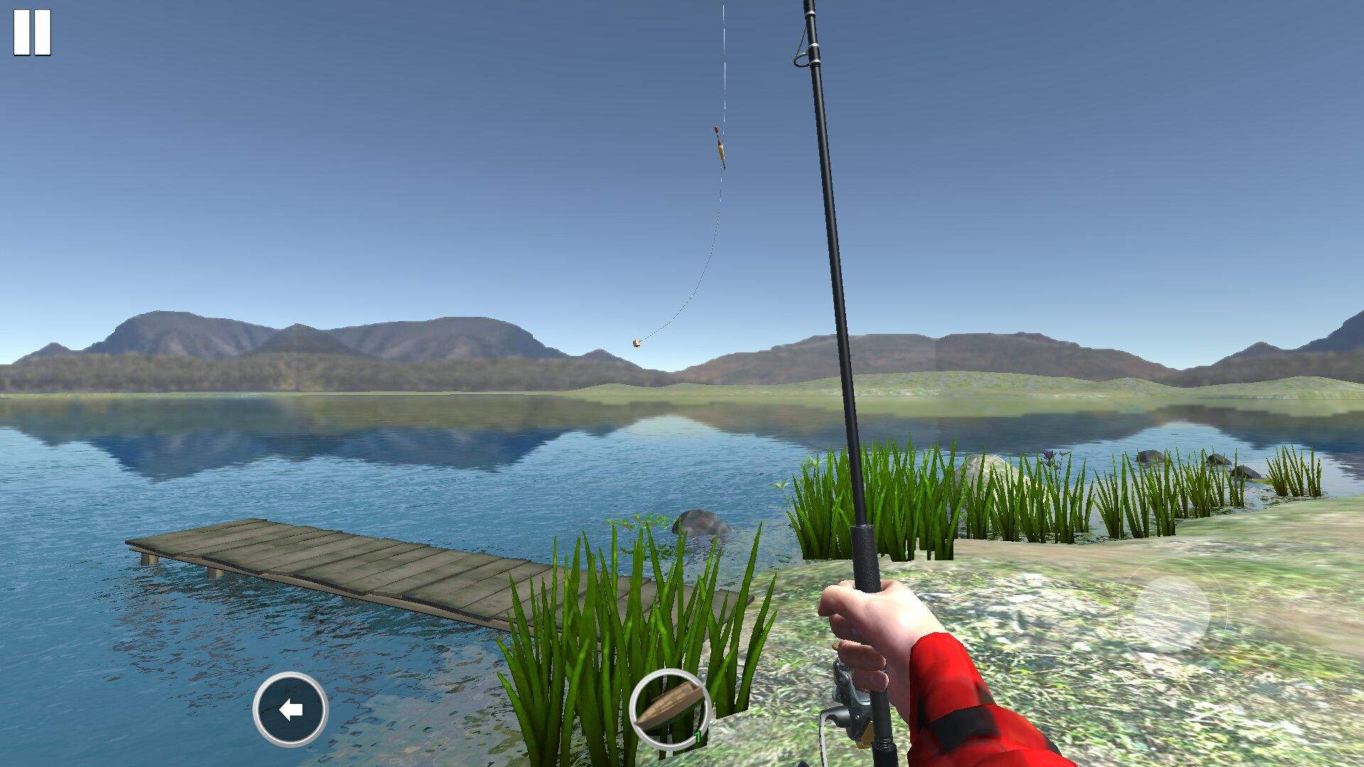 Рыбалка с двух карт