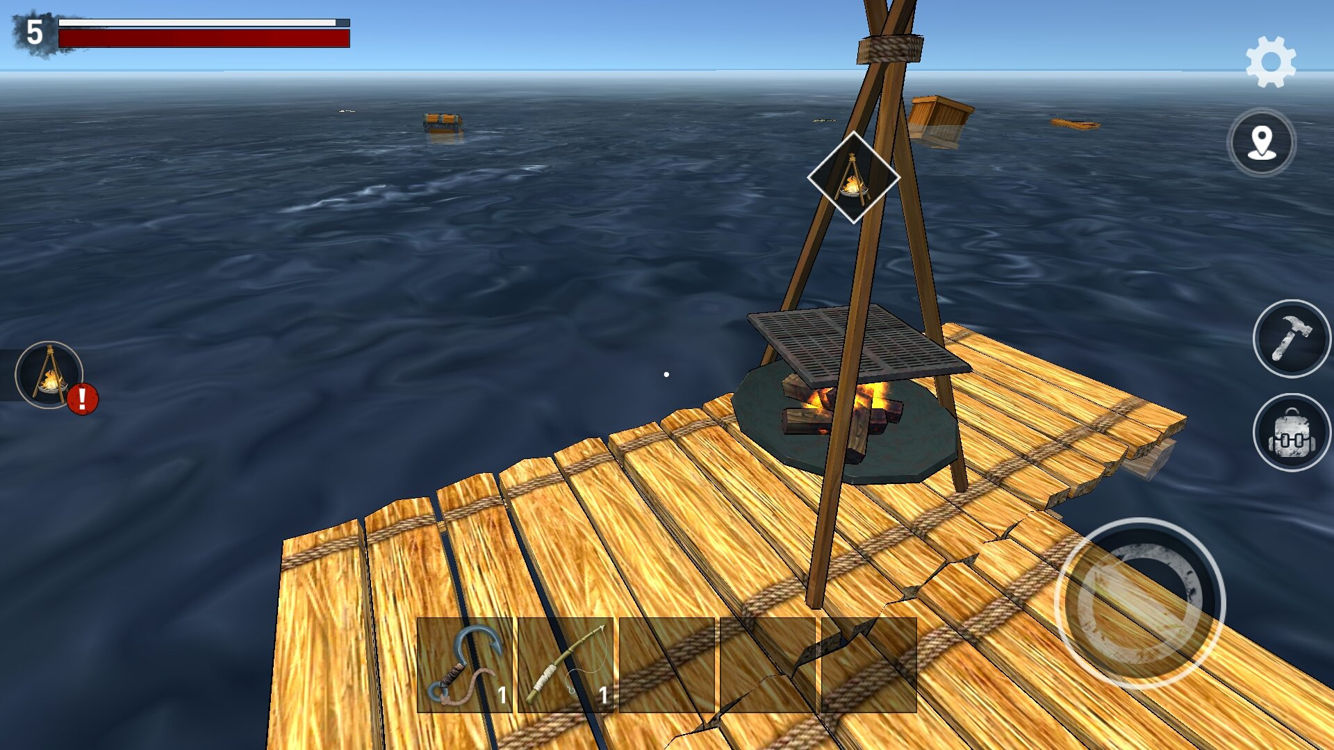 download raft survival Games Android