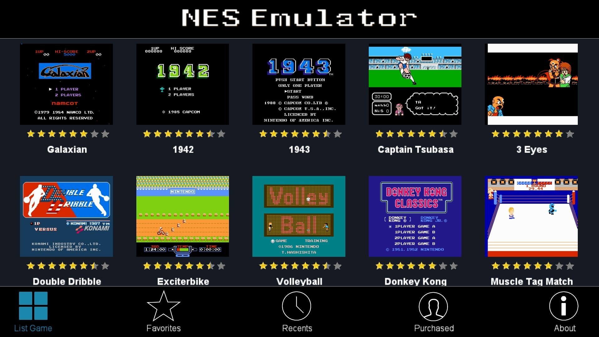 NES Emulator - FC NES - Arcade Games 1.6 …