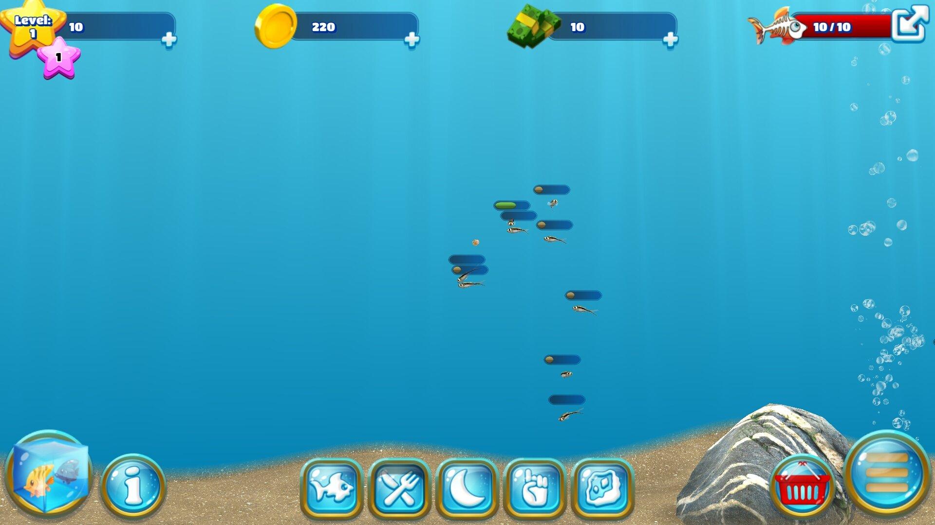 Fish farm 3 3d aquarium simulator android for Fish farm 3