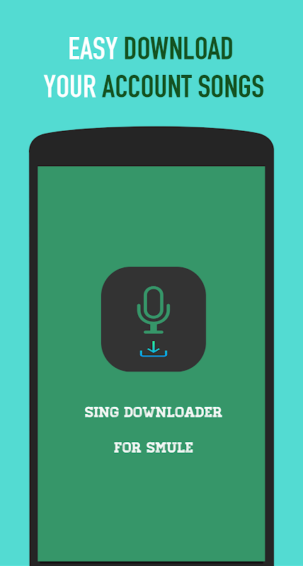 Sing Downloader for Smule - Android games - Download free